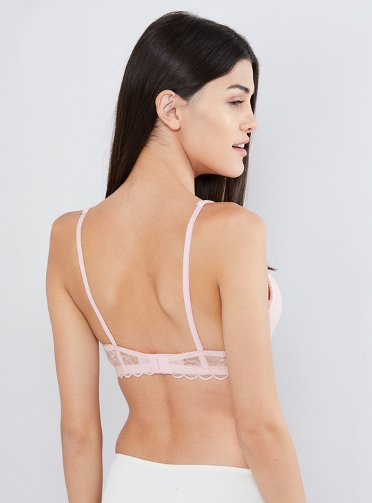 MAX Solid Padded Underwired Bra