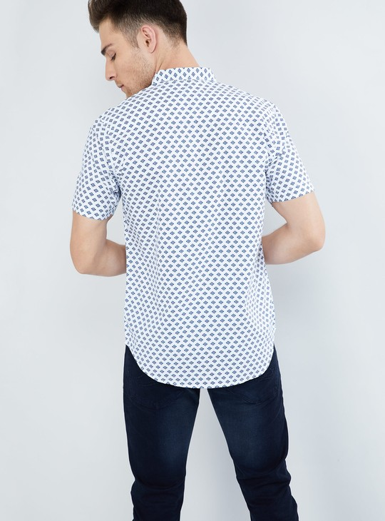 MAX Printed Short-Sleeve Shirt