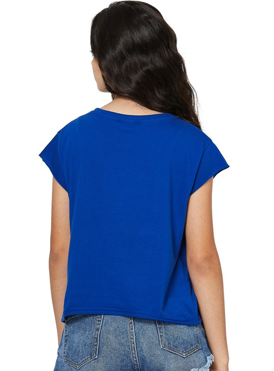 MAX Love Boxy Fit Crop Top