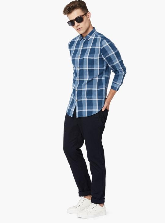 MAX Checkered Full Sleeves Shirt