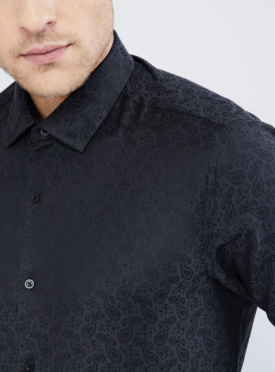 MAX Paisley Print Formal Shirt