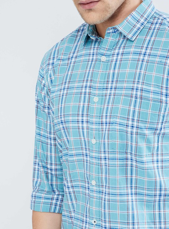 MAX Checked Full-Sleeve Shirt