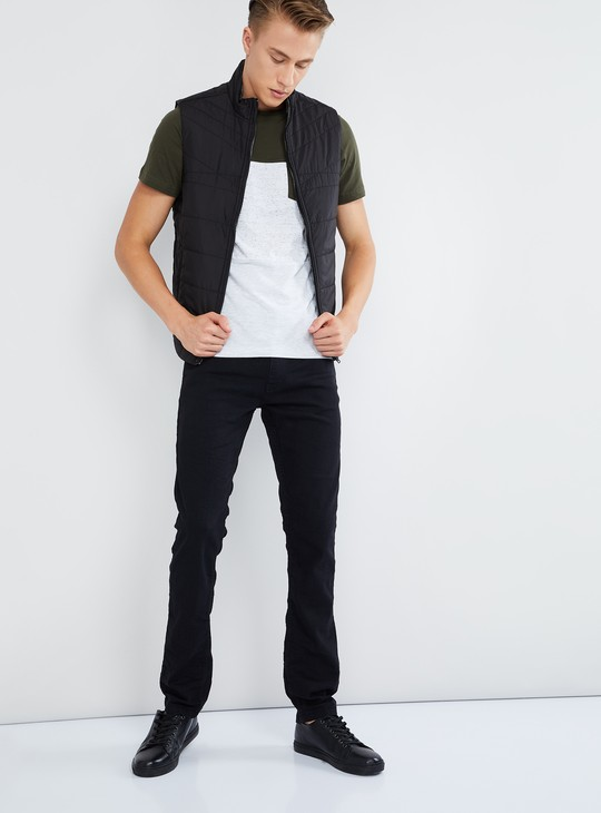 MAX Solid 5-Pocket Jeans