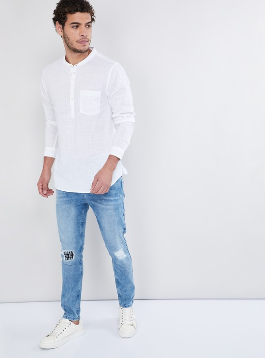 MAX Medium Washed Distressed Jeans