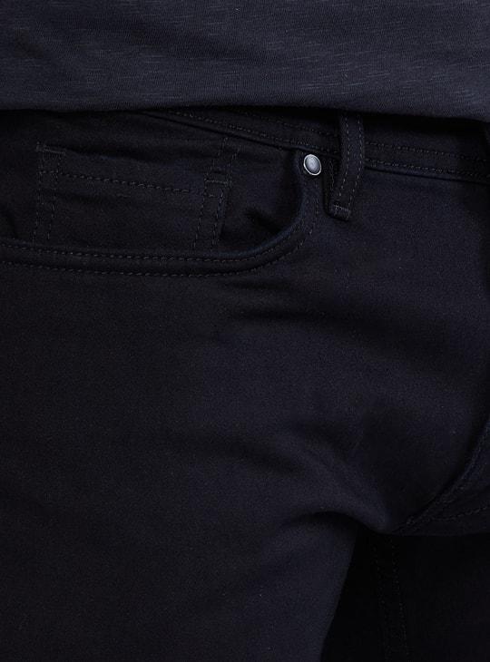MAX Solid 5-Pocket Denim Joggers