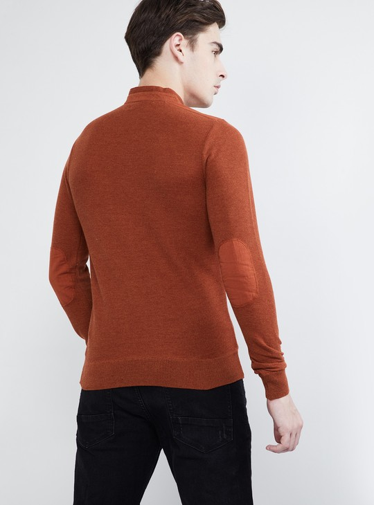 MAX Solid Flat Knitted T-shirt