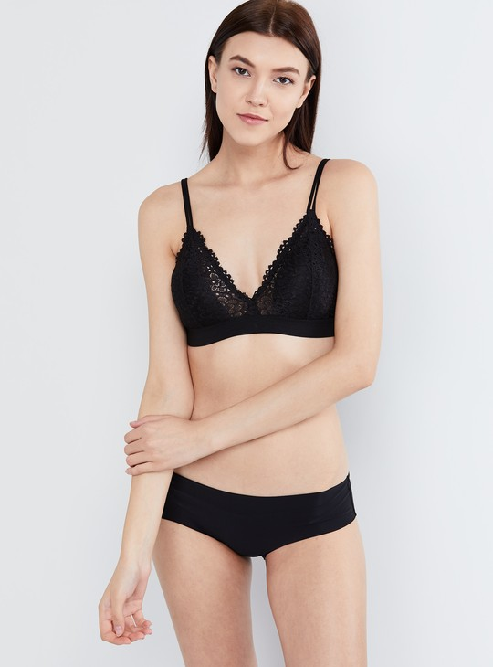 MAX Floral Lace Full Coverage Bra