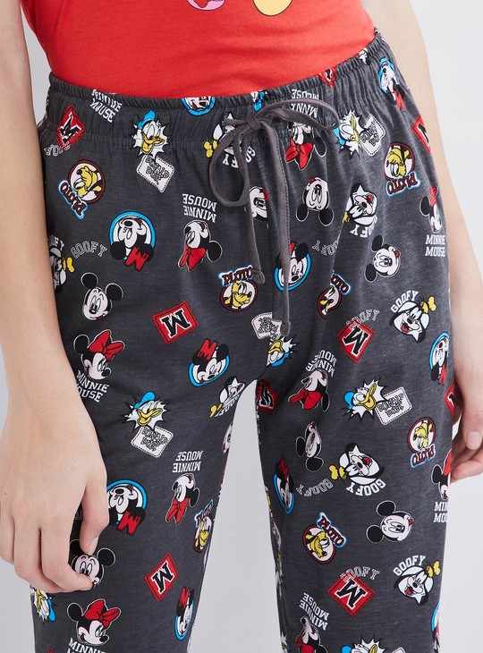 MAX Graphic Print Top with Pyjamas