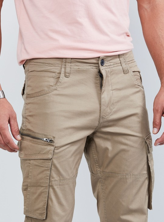 MAX Solid Cargo Pants