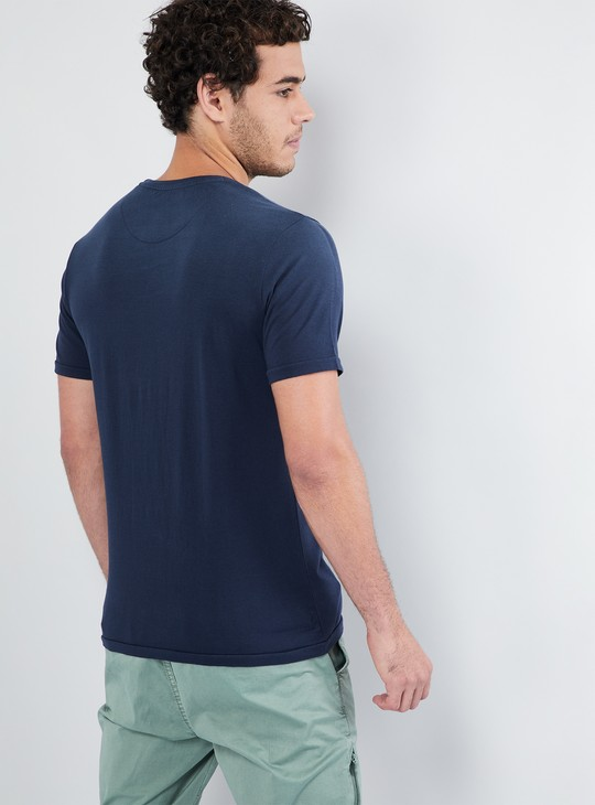 MAX Washed Crew Neck T-shirt