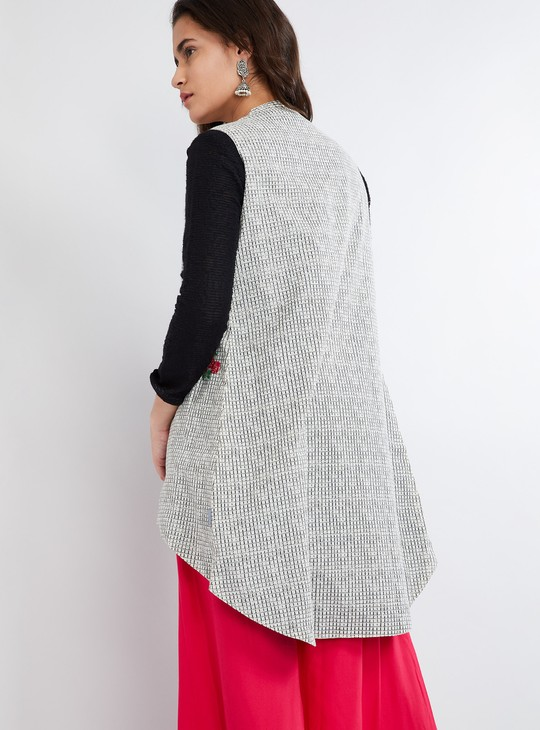 MAX Reversible High-Low Open-Front Jacket