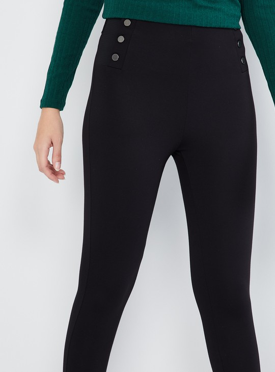 MAX Cropped High-Rise Pants
