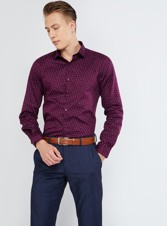 MAX All-Over Print Sheen Party Shirt