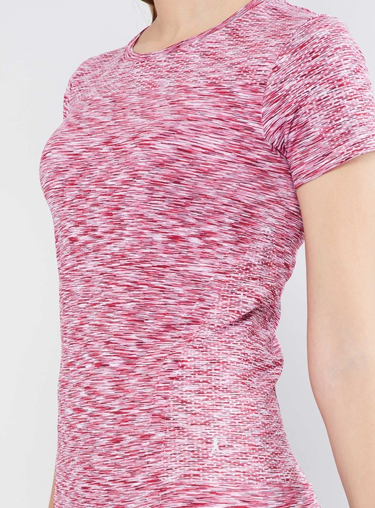 MAX Patterned Half Sleeve Training Top