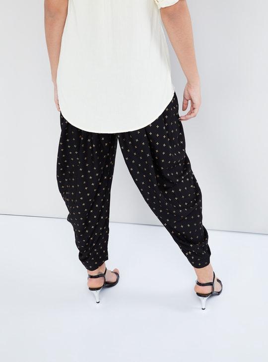 MAX Foil Print Patiala Pants