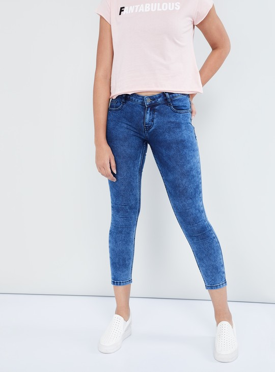 MAX Cropped Skinny Fit Jeans