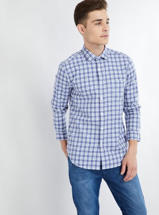 MAX Checked Long Sleeve Shirt