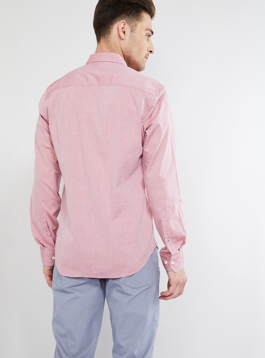 MAX Patterned Shirt with Patch Pocket