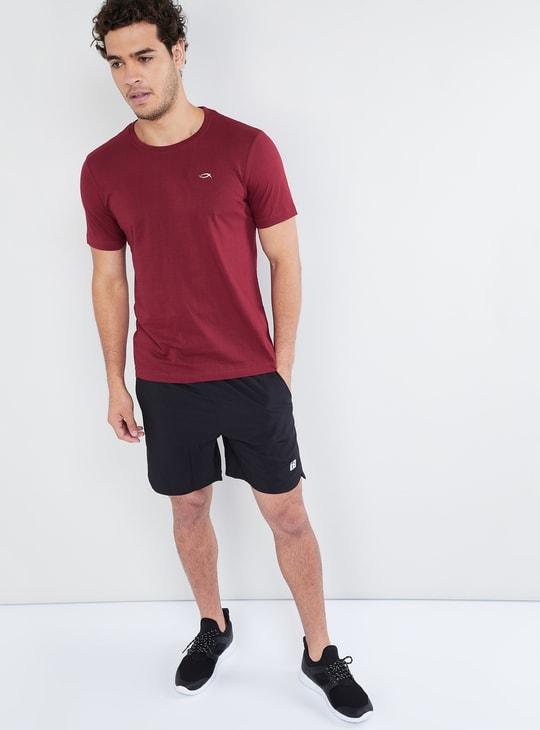 MAX Solid Crew Neck T-Shirt