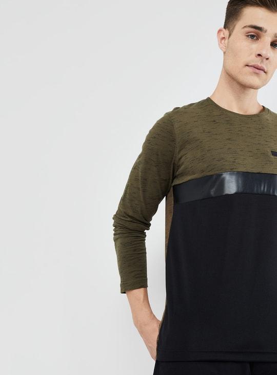 MAX Colourblocked Long Sleeve T-shirt