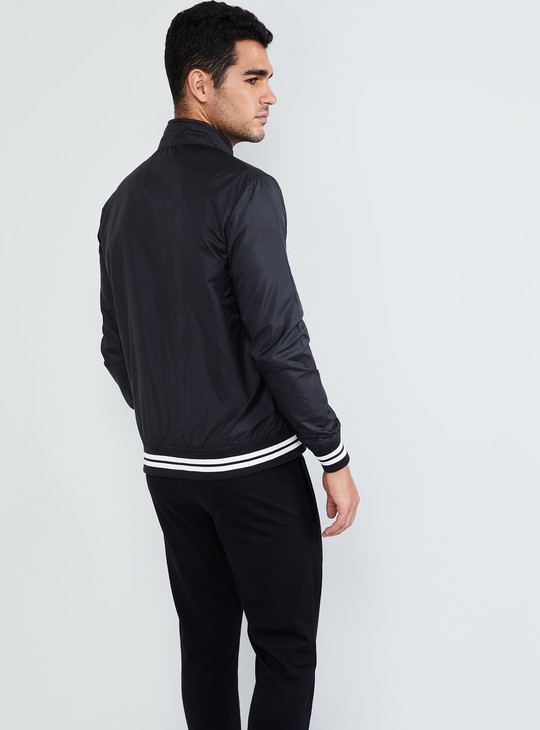 MAX Solid Zip-Up Jacket