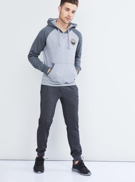 MAX Colour-Blocked Hooded Sweatshirt
