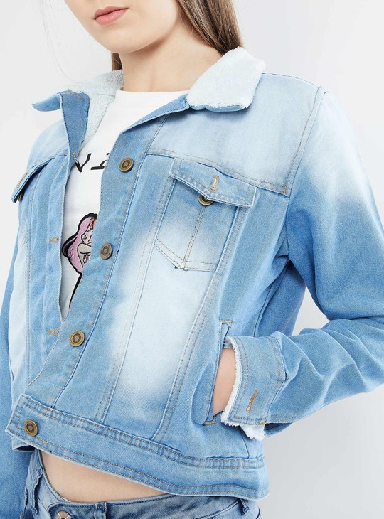 MAX Stonewash Denim Jacket