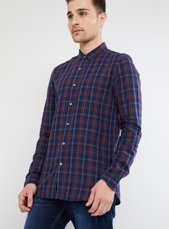 MAX Checked Full Sleeves Shirt
