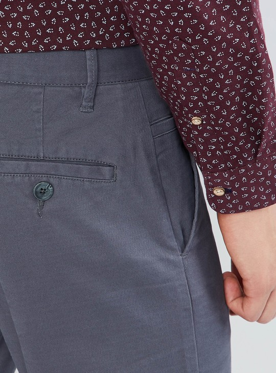 MAX Textured Tapered Pants