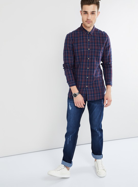 MAX Stonewashed Low Rise Slim Fit Jeans
