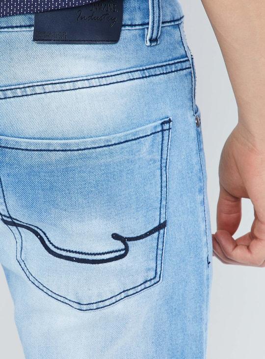 MAX Stonewash 5-Pocket Jeans