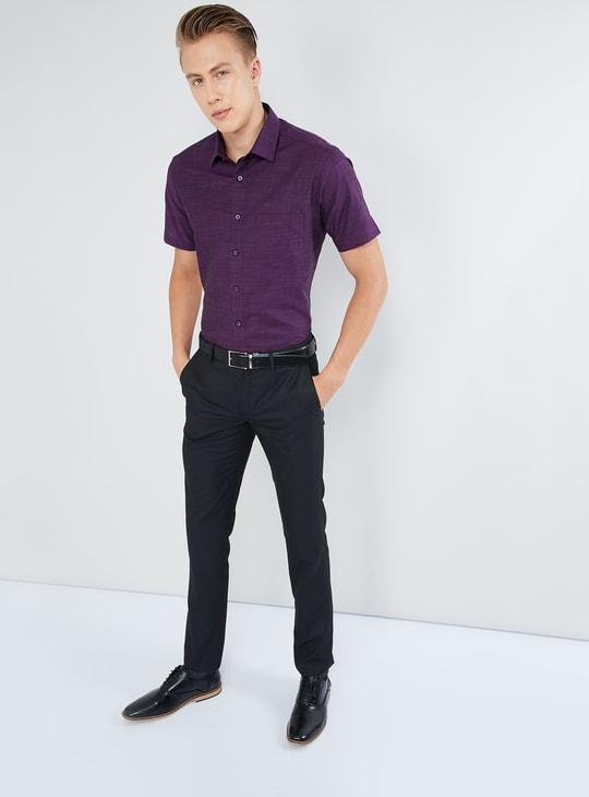 MAX Textured Short Sleeves Shirt