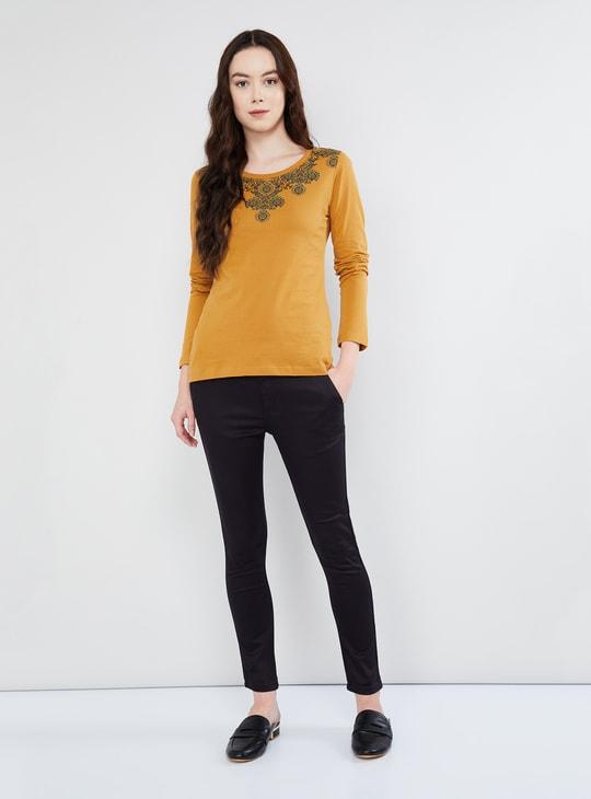 MAX Printed Long Sleeve T-shirt