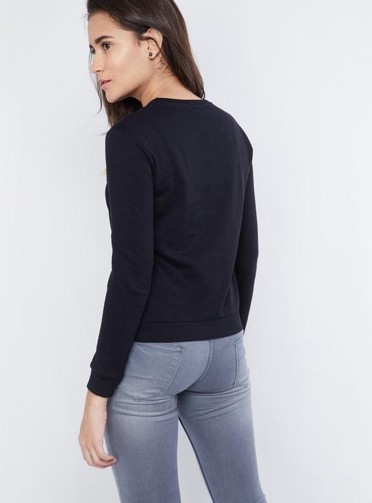 MAX Bonjour Full Sleeves Sweatshirt