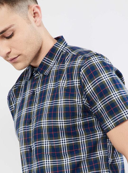 MAX Checked Short Sleeve Shirt