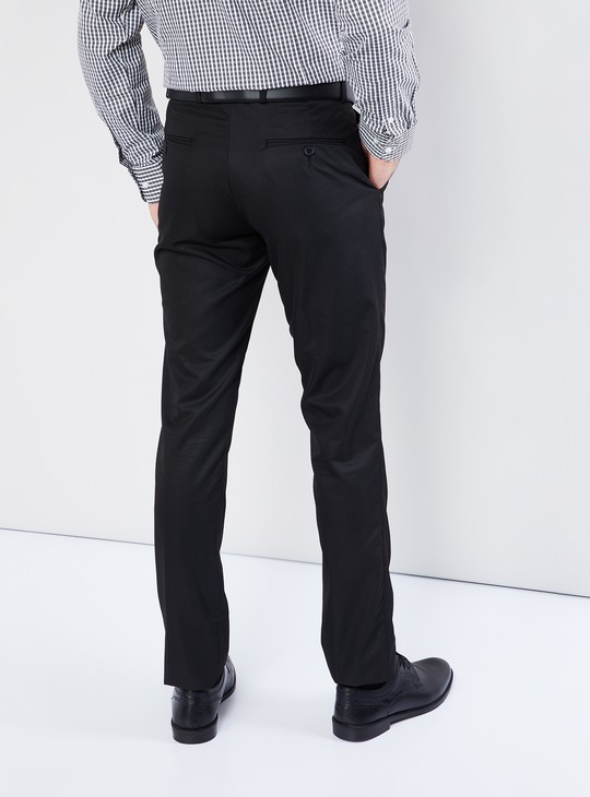 MAX Flat-Front Trousers