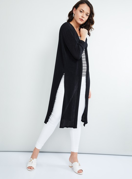 MAX Solid Front Open Shrug