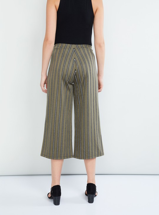 MAX Striped Culottes