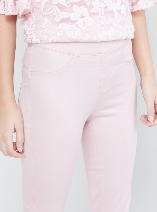 MAX Solid Slip-On Jeggings