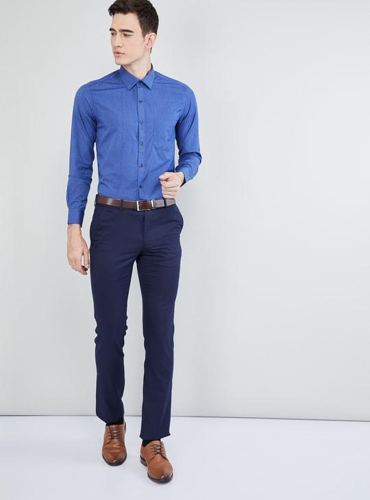 MAX Solid Formal Full Sleeves Shirt