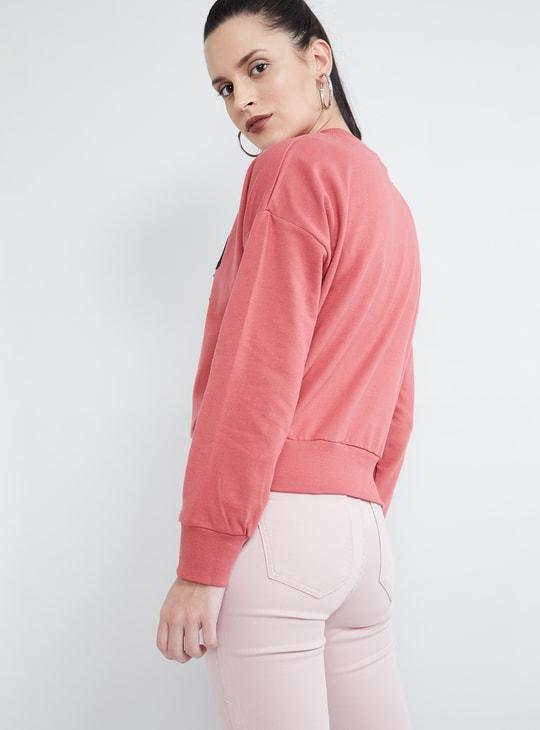MAX Printed Embellished Sweatshirt