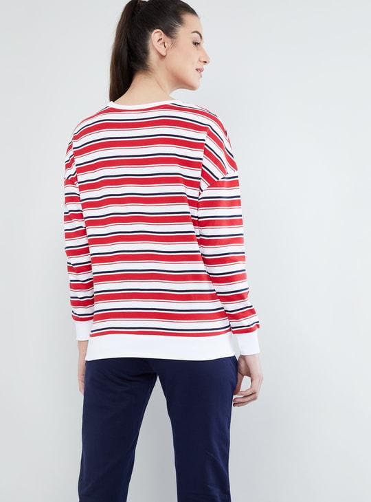 MAX Striped Sweatshirt