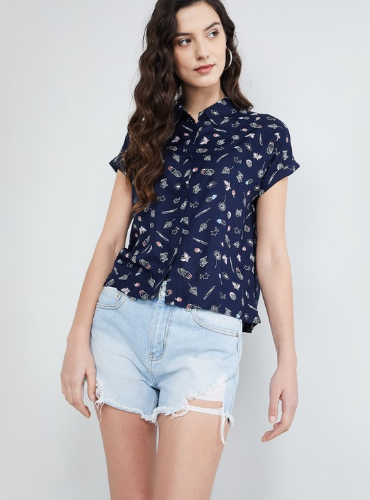 MAX Quirky Printed Shirt