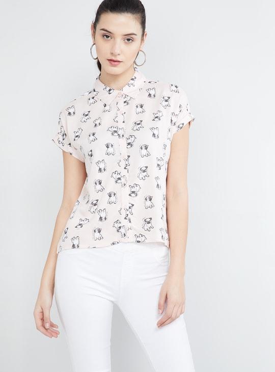 MAX Quirky Printed Shirt