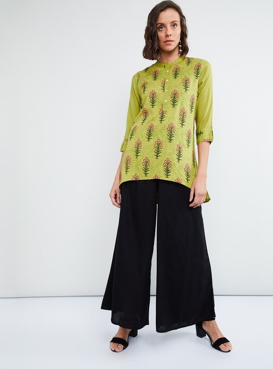 MAX Embroidered Collared Tunic