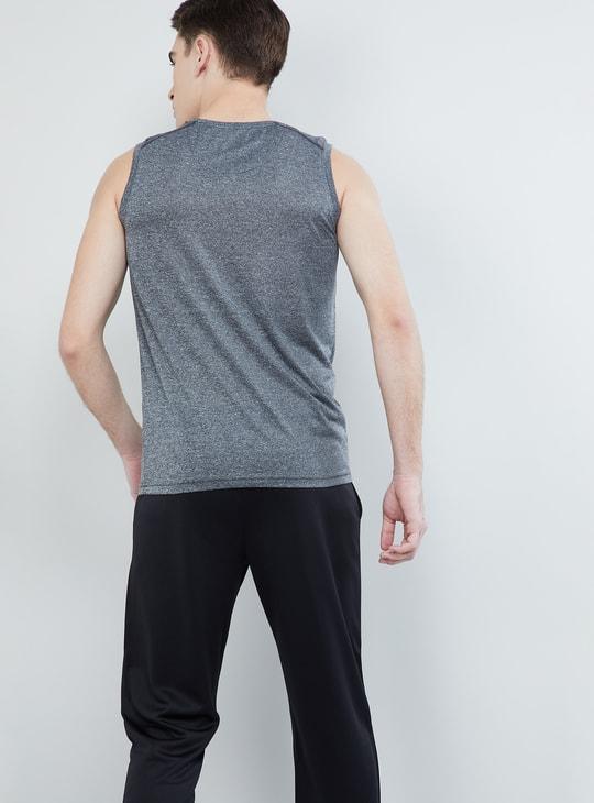 MAX Solid Sleeveless Active T-shirt