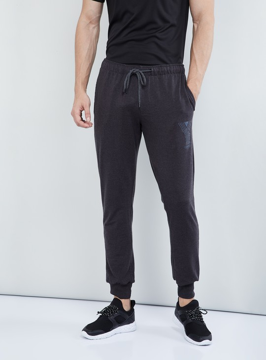 MAX Melange Patch Printed Joggers