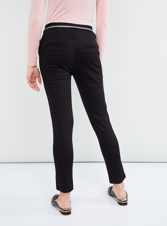 MAX Solid Elasticated Waist Trousers