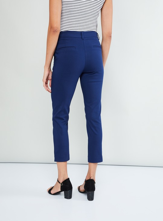 MAX Low-Rise Tapered Trousers