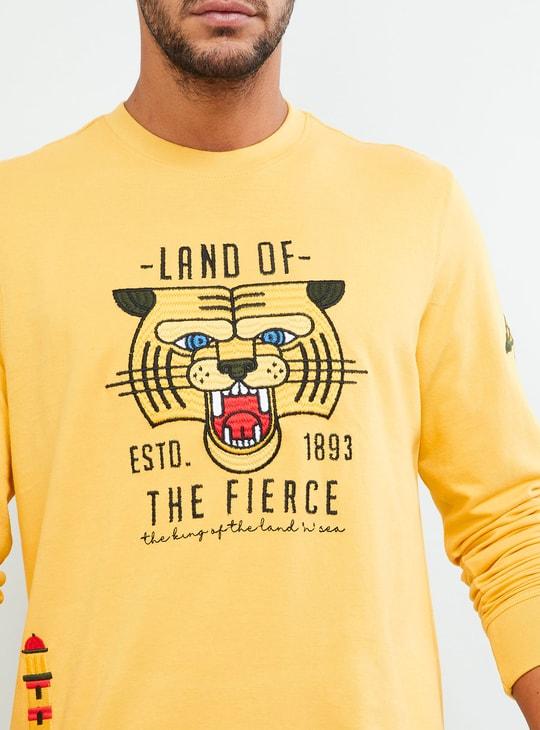 MAX Graphic Print Crew-Neck Sweatshirt